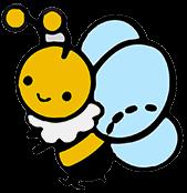 蜜蜂のイラスト カラー ミツバチ