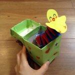保育士 製作 びっくり箱