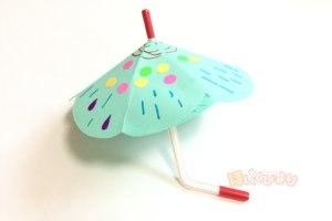 保育 製作 梅雨 カサ