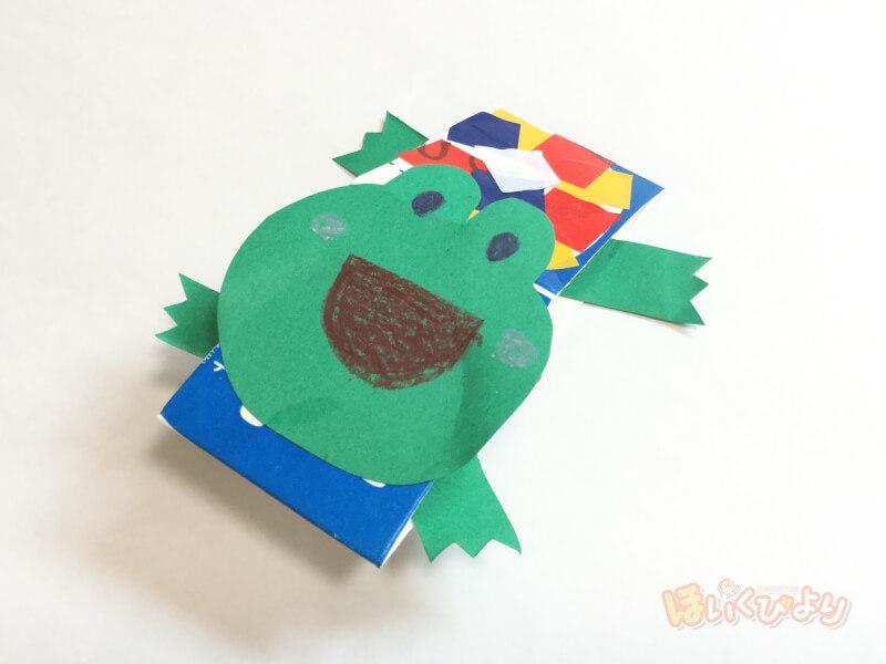 ぴょんぴょん カエル 牛乳パック 牛乳パックで手作りおもちゃの簡単な作り方10選!幼児から子供に人気...