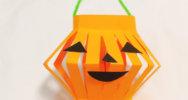 【ハロウィン手作り製作】かぼちゃちょうちんの作り方
